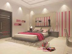 A iluminação por pontos de luz concentrados no acabamento do quarto traz um leve toque de imponência e ajuda na iluminação como um todo. Pontos distribuídos ajudam na iluminação geral.