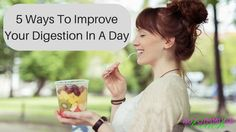 Autoimmune disease often comes with a host of digestive symptoms. Here are 5 tips anyone can easily do to improve their digestion in a day.