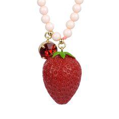 Collection Drôles de Fruits http://shop-n2.lesnereides.com/necklace/3269-plain-strawberry-long-necklace.html