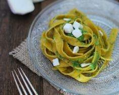 Parmesan, Spaghetti, Ethnic Recipes, Food, Spinach Basil Pesto, Ribbons, Food Porn, Recipes, Essen