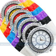 Classic Gel Silicone Crystal Men Lady Jelly Watch Gifts 4 by new brand. $0.99. Watch Case Diameter: Approx 3.50cm   Watch Case Material: Alloy  Width Of Watch Belt: Approx 2.00cm   Watch Belt Material: Silicone  Length Of Watch: Approx 23.00cm   Daily Water Resistant (not for swimming or showering): Yes   ( 2.54cm =1.00inch). Save 67% Off!