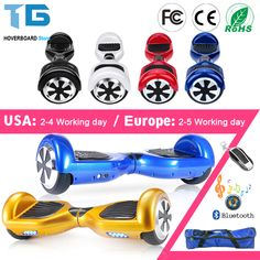 "Hoverboard 6.5""Electric Skateboard Smart Self Balance Scooter 2 Wheel Hoover Boosted Hover Board Walk Car Unicycle USA Warehouse //Price: $84.25//     #shop"