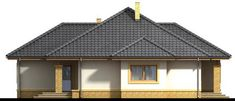 1 storey white hip roof house (4) Hip Roof, Bedroom House Plans, House Roof, Home Fashion, Gazebo, Outdoor Structures, House Styles, Home Decor, Houses