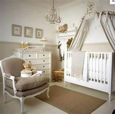 don't like the brown, but like the other neutrals for baby room