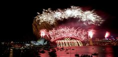 """Probably the most famous Sydney Harbour Bridge Fireworks was in the year 2000 when Sydney hosted the olympic games. Millions watched from around the world as the Harbour Bridge lit up with the famous olympic rings."""