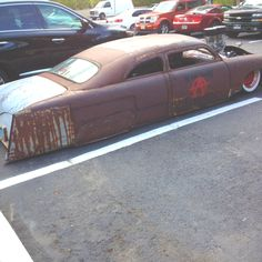 Rat rod sled