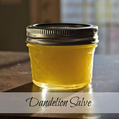 How to make dandelion salve for dry hands and feet, minor sunburn and more.