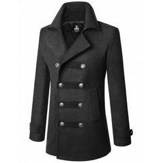 Mens Coat :DOUBLJU