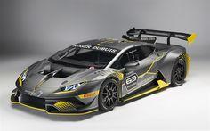 Download wallpapers Lamborghini Huracan, 2018, Super Trofeo Evo, racing car, supercars, tuning Huracan, Lamborghini