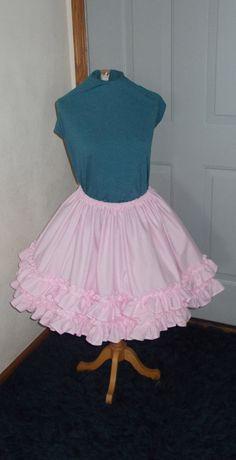 Custom Lolita Dress Skirt Cosplay Lolita Pink by SewnbyJute