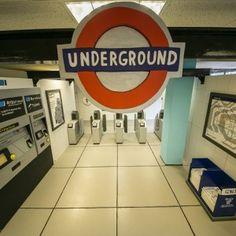Camilla Barnard creates life-sized and hand-painted Wooden Tube Station