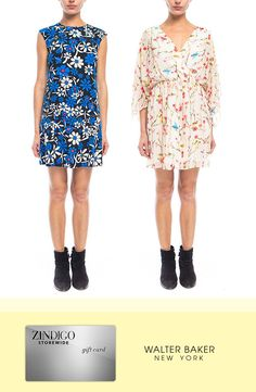 New floral feminine dresses from Walter Baker have unleashed a '90s throwback. Get yours for $35 off a $100 purchase using code SWEETER35, valid 03/1/2016 - 03/8/2016