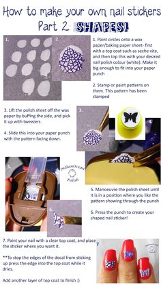 Pinterest The Worlds Catalog Of Ideas - How to make nail decals at home