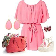 Prink dress