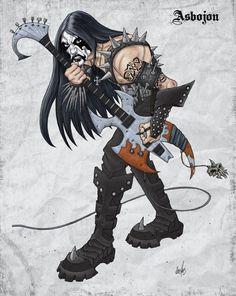 Black Metal podľa Axel13-Gallery