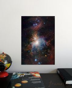 Infrared view of the Orion Nebula 19 x 13 Poster Science Astronomy Wall Art Window on the Universe series Planetary Nebula, Helix Nebula, Orion Nebula, Andromeda Galaxy, Nebulas, Galaxies, Galaxy Theme, Carina Nebula, Hubble Images