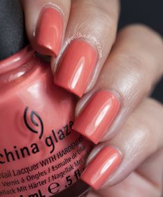 China Glaze Mimosa's Before Mani's (Avant Garden Collection) | A Polish Addict