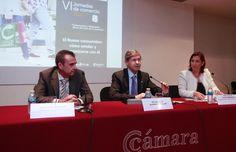 Alfonso Bataller inaugura las VI Jornadas de Comercio dirigidas a incrementar la competividad del sector  comercial de Castellón