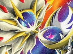 Solgaleo Lunaala Pokemon Sun Pokemon Moon by tatanRG on DeviantArt