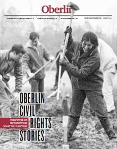 Silver winner for College and University General Interest Magazines (Circulations of 30,000 to 74,999), Oberlin College (Ohio) - Oberlin Alumni Magazine