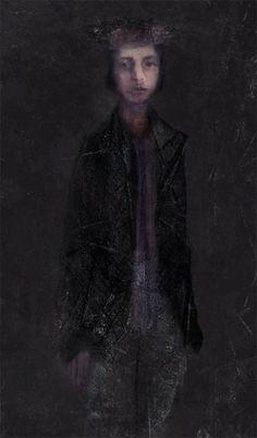 Alexei Chekini--холст/смешанная техника с маслом и акриликом 90 см х 45 см