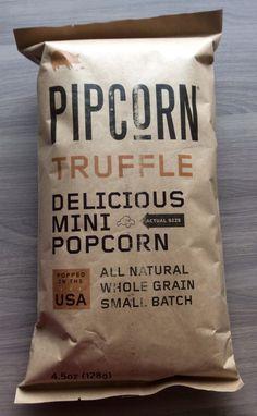 POPSUGAR Must Have Box Review – January 2014 Pipcorn Truffle Mini Popcorn – Value $6