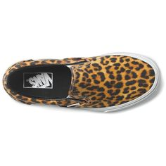 57b37e944e Digi Leopard Slip-on - black true white (74 AUD) ❤ liked