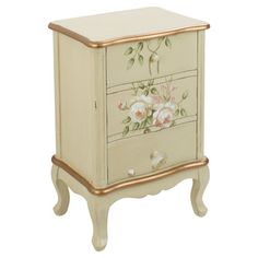 Annabel 3-Drawer Side Table at Joss and Main