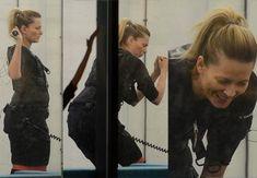 Odeta Moro wyciska siódme poty na siłowni PODŁĄCZONA DO PRĄDU (ZDJĘCIA) Baseball Cards, Sports, Hs Sports, Sport