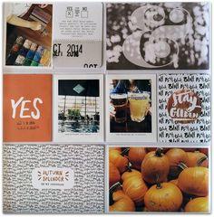 PL October page 3 by Rockermorsan at Project Life Planner, Project Life Album, Project Life Layouts, Pocket Scrapbooking, Digital Scrapbooking, Scrapbooking Ideas, Scrapbook Layouts, Paper Crafts, Diy Crafts