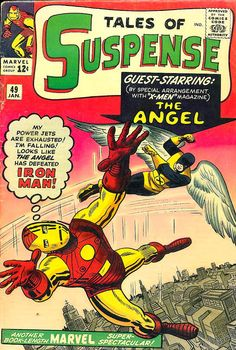 Comic Book Critic - Google+ - Tales of Suspense #49 (Jan '64) cover by two legends - Jack Kirby & Steve Ditko