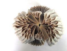 Win Dinn Art, Etc.: That's it - I'm folding. Book Sculpture, Sculptures, Book Making, Altered Books, Design, Art, Ideas, Craft Art, Altered Book Art