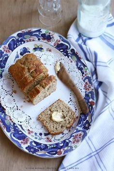 Banana And Coconut Milk Bread