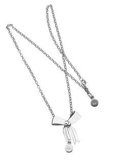 Karen Walker Jewellery Bow pendant  www.underwoodsfinejewellerskawana.com.au