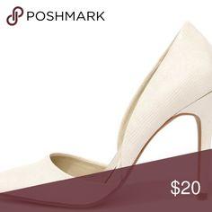I just added this listing on Poshmark: NWT - MIA MARGO LINEN LIZARD D'ORSAY PUMPS. #shopmycloset #poshmark #fashion #shopping #style #forsale #MIA #Shoes