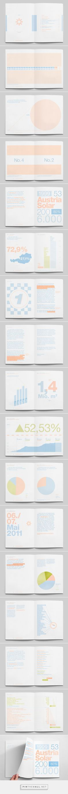 The Solar Annual Report, powered by the sun on Behance