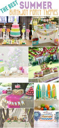 The Best Summer Birthday Party ideas!