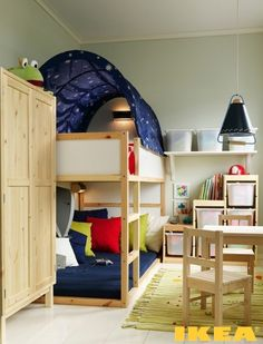 Child's room in the Khrushchev