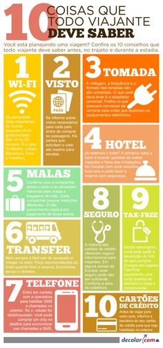 10 dicas que todo viajante deve saber