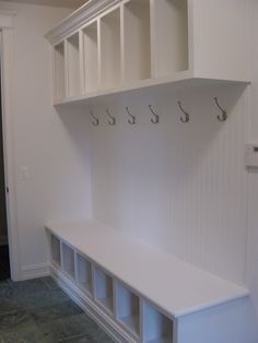 I'd like to something similar to this built in to the wall by the laundry room by closing in the dining room.