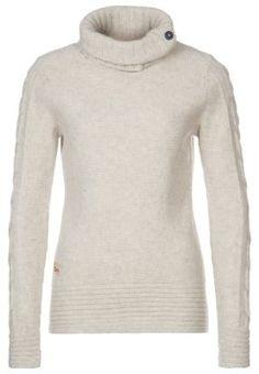 Sweter - biały