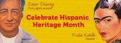 Introduce your students to the richness of Hispanic heritage with these lesson plans, book lists, and teaching ideas. Hispanic History Month, Hispanic Culture, Hispanic Heritage Month, Civil Rights Activists, Spanish Classroom, Book Lists, How To Introduce Yourself, Lesson Plans, Teaching Ideas