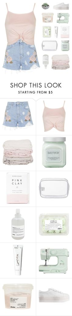 """MAKE POLYVORE GREAT AGAIN."" by neutral-bunny ❤ liked on Polyvore featuring Topshop, Laura Mercier, Herbivore, John Lewis, Davines, Korres and Jeffrey Campbell"