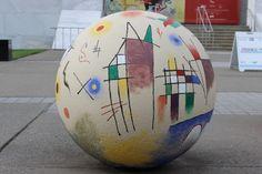 Bollard Decoration Project - The Frist Center for the Visual Arts, Nashville, TN.
