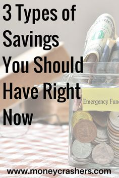 Every working-age adult should be able to lay claim to three types of savings, and should be committed to ensuring each of those accounts is properly funded. Ways To Save Money, Money Tips, Money Saving Tips, Saving Ideas, Budgeting Finances, Budgeting Tips, Financial Tips, Financial Planning, Financial Literacy