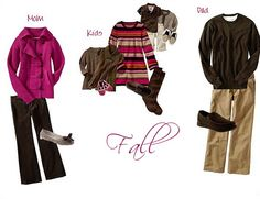 Tips for what to wear for Fall Family Photos..