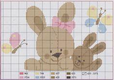 Ru / фото - saranta - ergoxeiro cross stiching th Cross Stitch Owl, Cross Stitch Charts, Cross Stitching, Cross Stitch Patterns, Crochet Baby Mobiles, Baby Embroidery, Animal Crackers, Stitch Design, Baby Blanket Crochet