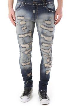 Jeans Uomo Absolut Joy (VI-P2450) colore Blu Scuro