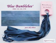 Hand dyed 7 mm wide pure silk ribbon soie by BarbaralCreations Ribbon Embroidery, Silk Ribbon, Pure Silk, Beautiful Hands, Lavender, Dyed Silk, Pure Products, Rick Rack, Ribbons