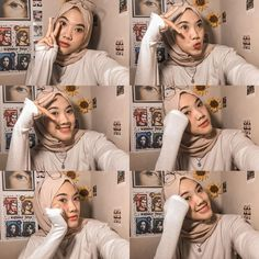 Ulzzang Girl Selca, Cute Muslim Couples, Picsart Tutorial, Photoshoot Concept, Instagram Pose, Ootd Hijab, Girl Photography Poses, Photo Poses, Hijab Fashion